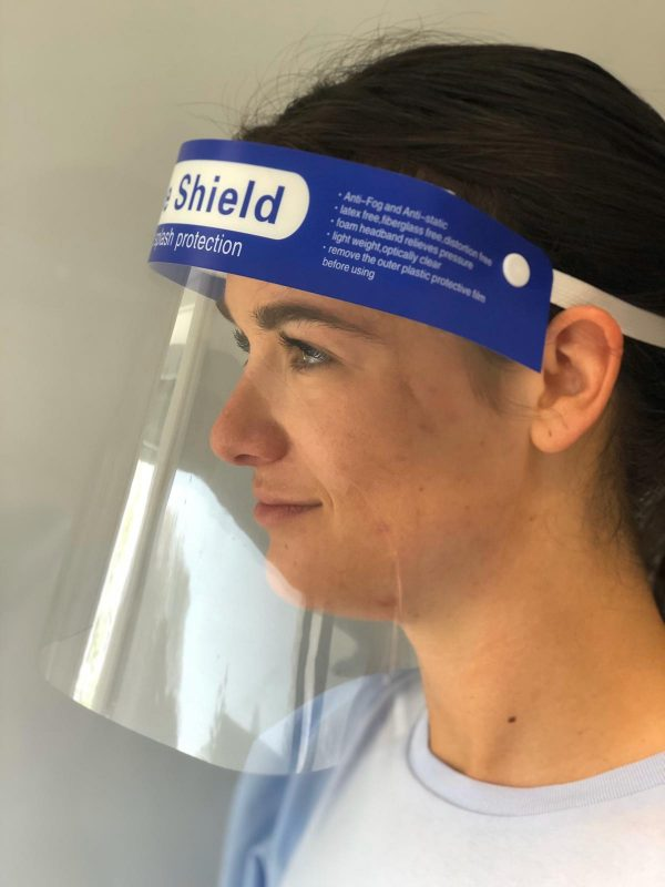 Faceshield zijaanzicht 2