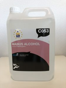 desinfectie alocohol handgel 5 liter can