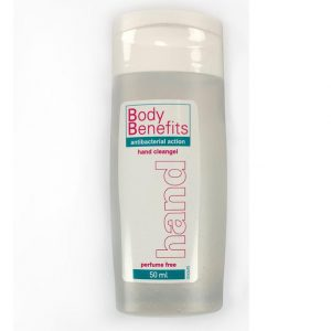 body benefits 50 ml handdesinfectie voorzijde